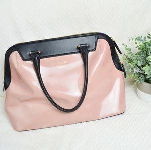 Iacucci Pelletteria Pink Satchel Handbag